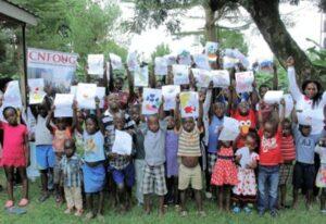 community network for orphans uganda group photo